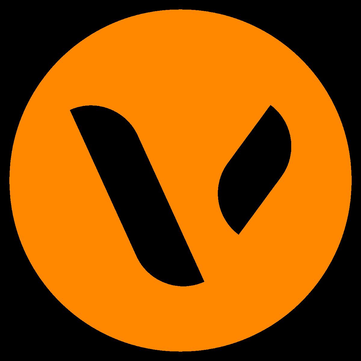 Brenda Vader logo_responsive oranje wit